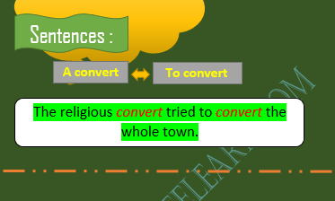 Regular Transitions of Nouns and Verbs – Online E Learn