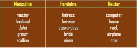 Noun Gender