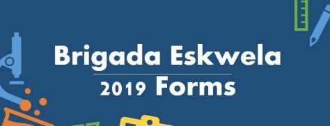 BRIDAGA ESKWELA 2019 FORMS LOGO